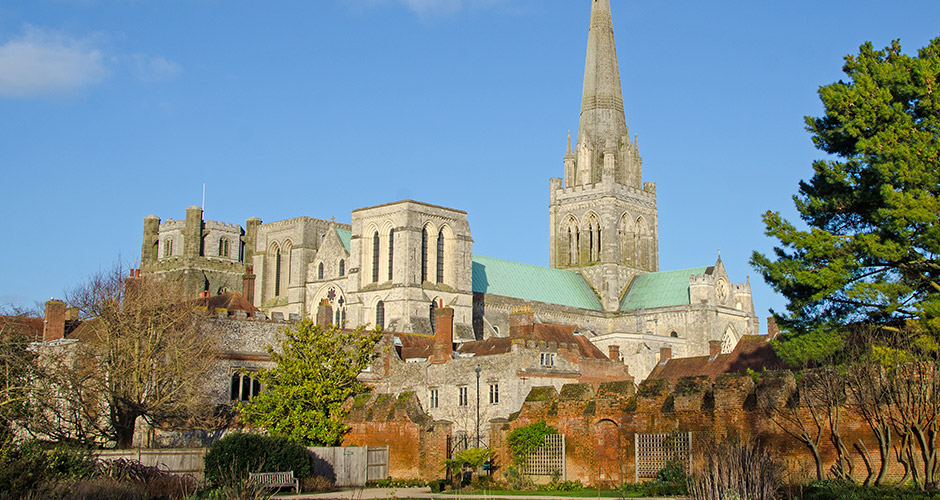 Chichester Cathedral and historic buildings