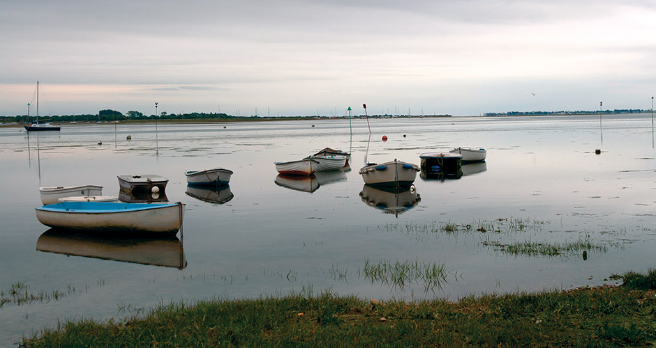 Beautiful, peaceful Chichester harbour nearby