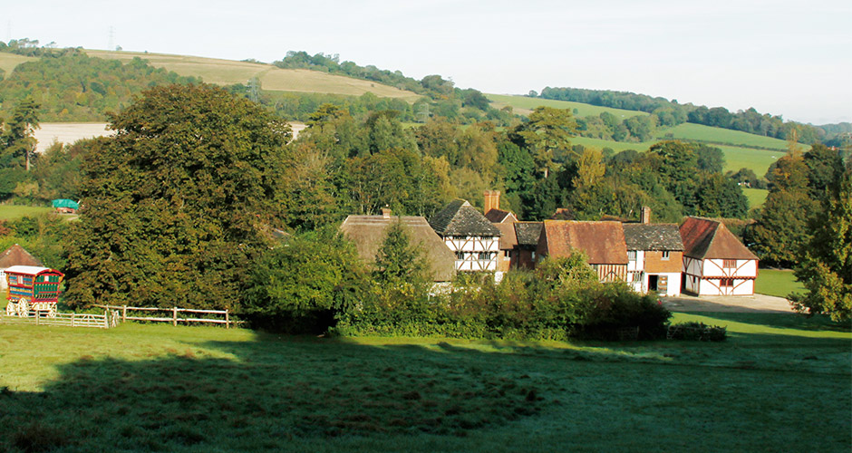 Weald and Downland Open Air Museum nearby